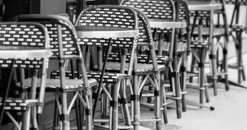 black and white black and white chairs france